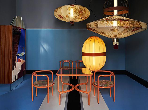 Dimorestudio: итальянский постфутур и мебель outdoor