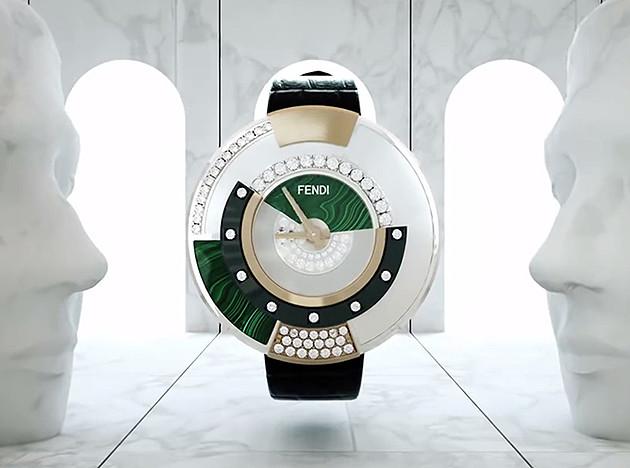 Часы Дельфины Делеттре (Delfina Delettrez) для Fendi