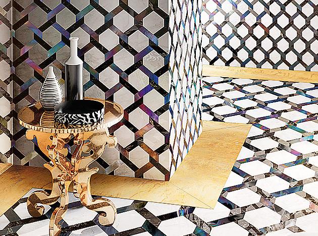 Sicis. Золотой декор и драгоценная мозаика