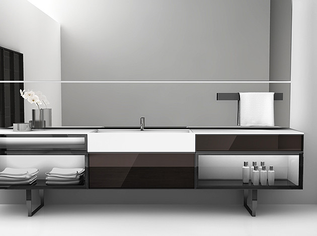 Ванные Antoniolupi: total look & total quality