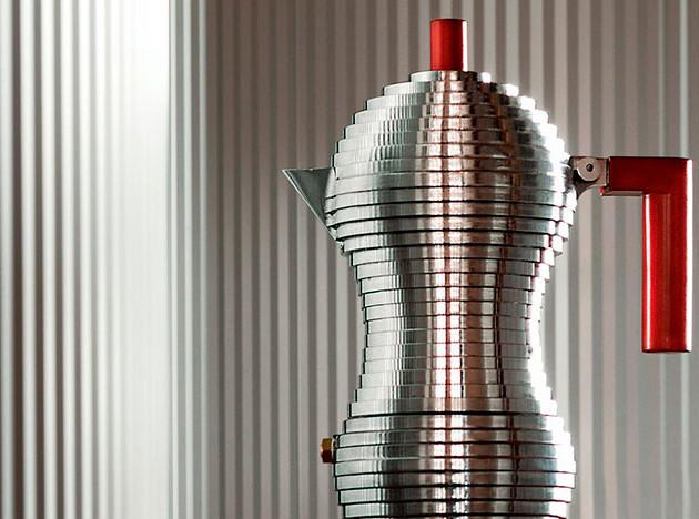 Alessi: кофеварки великих дизайнеров