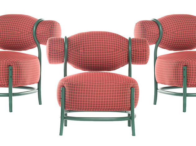 LucidiPevere: кресло-шиньон от Gebrüder Thonet Vienna