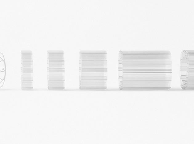 Nendo и Panerai: инсталляция Slice of time на Tokyo Design Week 2016