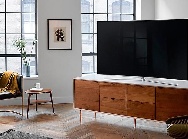 Телевизоры QLED от Samsung: сочные краски — стильный дизайн