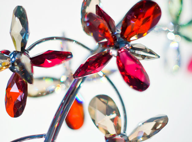 Windfall: светильники с кристаллами Swarovski