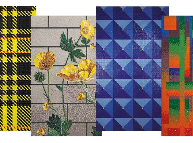 Bisazza: мозаики от Лавиани и Мендини
