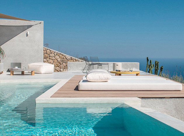 Kapsimalis Architects: дом-пещера на Санторини