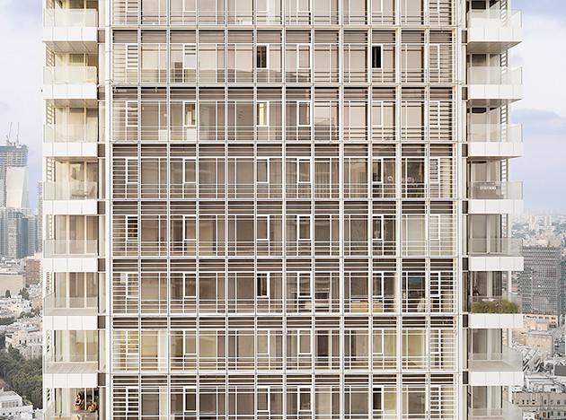 Ричард Мейер: белый дом в Тель-Авиве