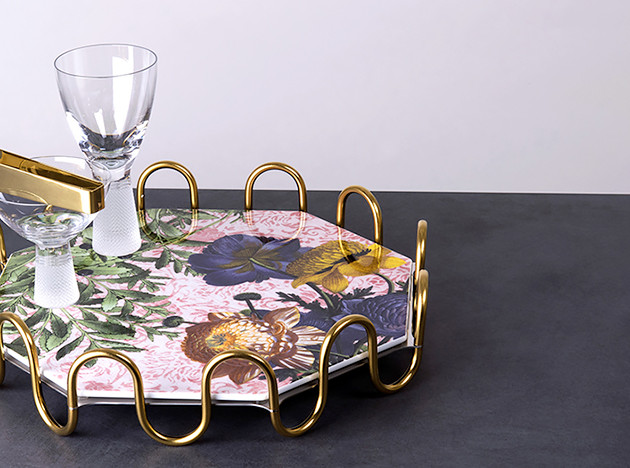 Вито Неста: декор стола со сказочной ботаникой