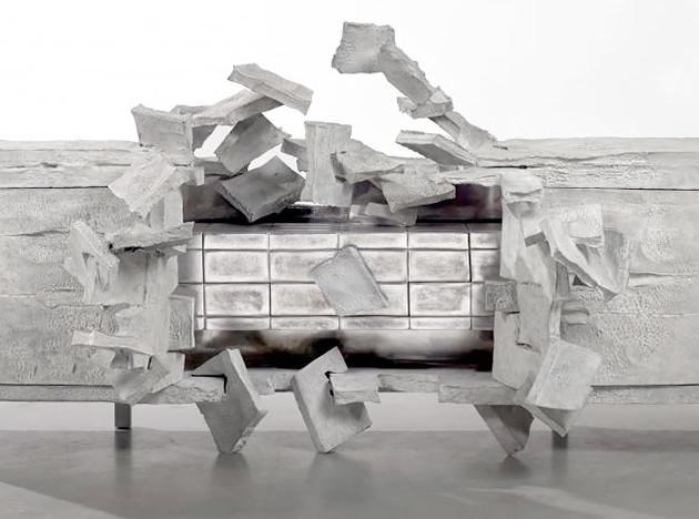Винсан Дюбур: «взорвавшаяся» мебель в Сarpenters Workshop Gallery