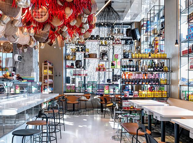 Ресторан «Старик и море» по проекту Марины Багровой