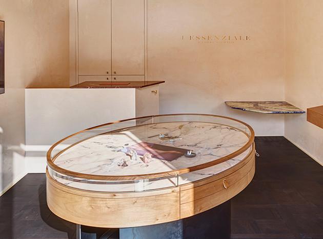 CLS Architetti: ювелирный бутик в Милане