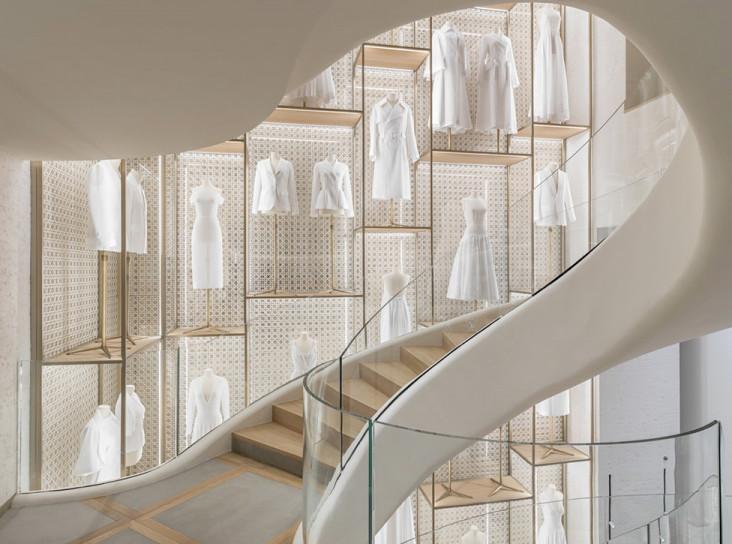 В Париже открылся новый бутик Dior