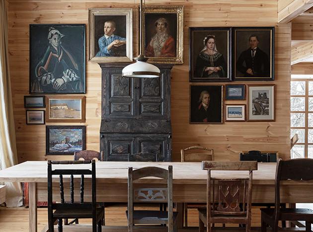 Алексей Дунаев: дом с искусством под Тарусой