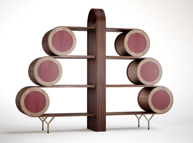 Елена Сальмистраро: артистическая мебель для Emmemobili