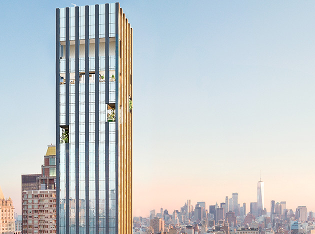 Небоскреб Рафаэля Виньоли в шорт-листе премии за архитектуру