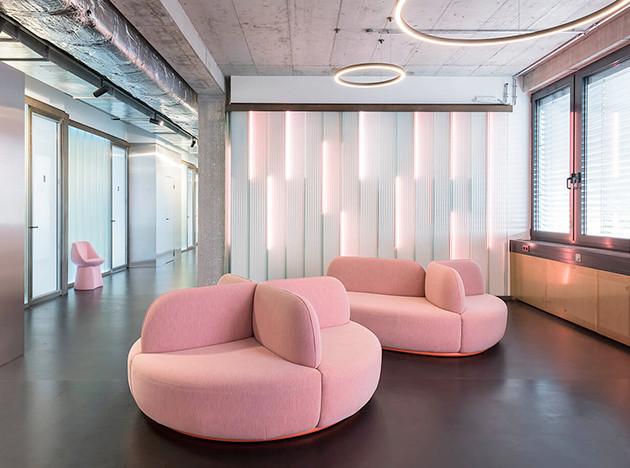 Стоматологическая клиника в Берлине по проекту Studio Karhard