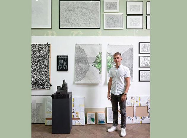 Конрад Виллемс готовит инсталляцию для Biennale Interieur