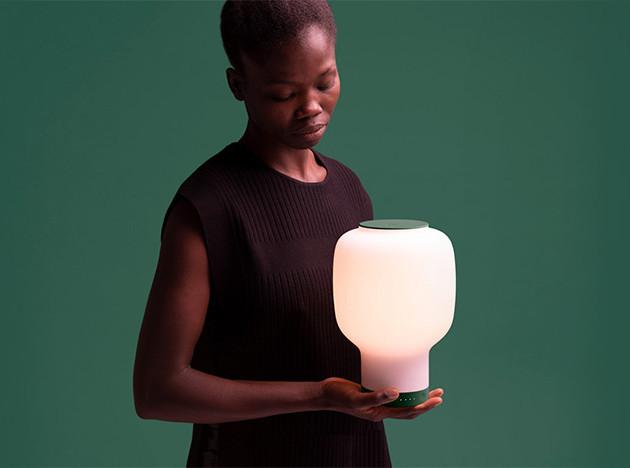 Беспроводной светильник от Layer