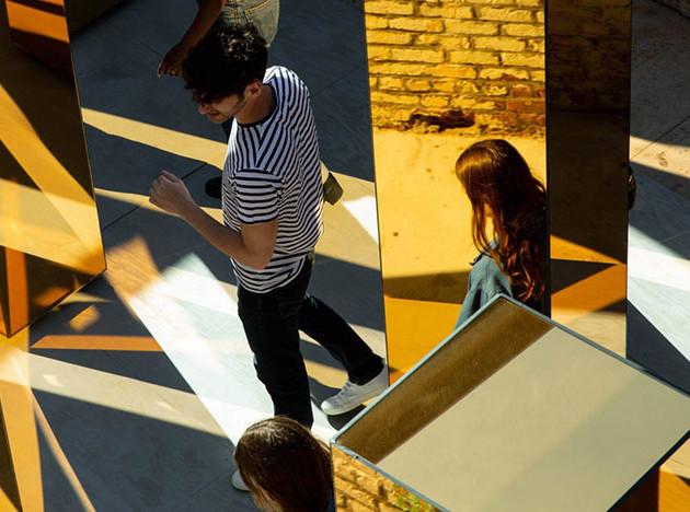 United Visual Artists: город в зеркалах