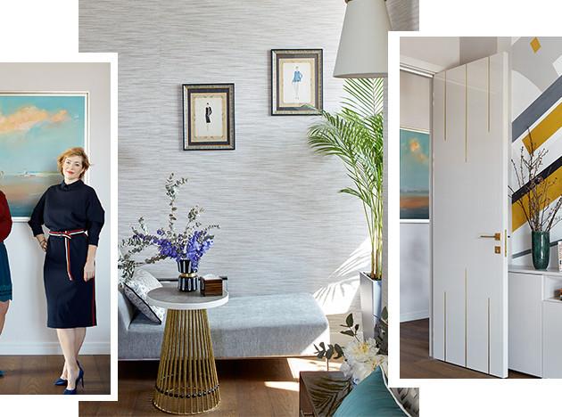 GS Interiors: квартира в оттенках заката