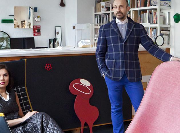Doshi Levien: в гостях у семьи дизайнеров в Барбикане