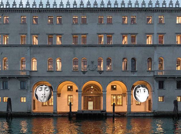 Инсталляция Fornasetti в Венеции