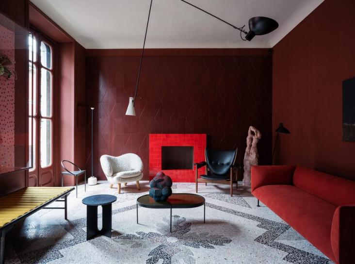 Датский и итальянский дизайн: 5 комнат Оссино и Хоффмейер
