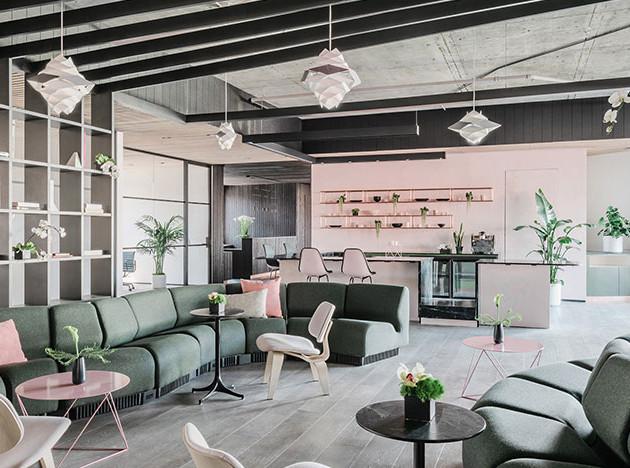 Работа и дом: 5 современных коворкингов