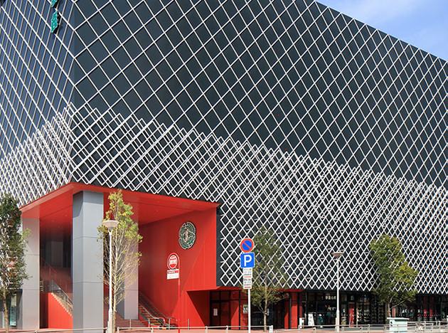 Театр Misono-za по проекту Кенго Кумы