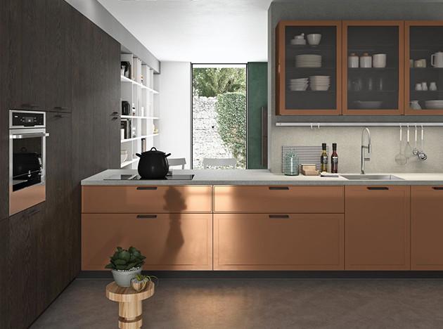 Универсальная кухня Vita Bella от Aran Cucine