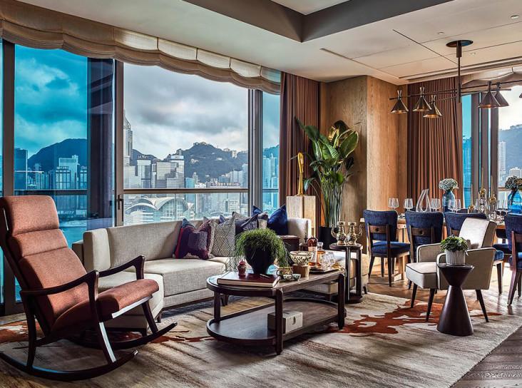 Апарт-отель в Гонконге по проекту Андре Фу