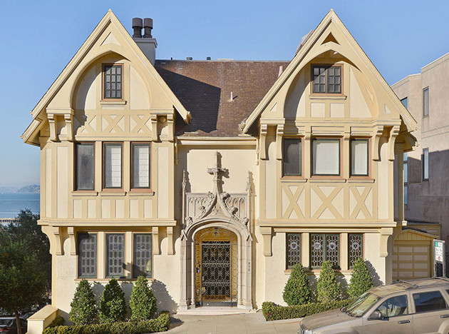 Дом Николаса Кейджа в Сан-Франциско