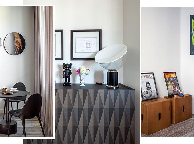 Марина Бусел: квартира 108 кв. метров для семьи арт-дилера