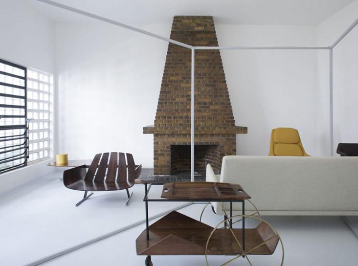 Квартира-галерея по проекту MNMA Studio в Сан-Паулу