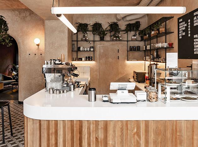 Кафе в Одессе по проекту Sivak & Partners