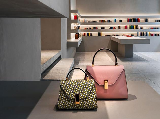 Миланский бутик Valextra по проекту Джона Поусона