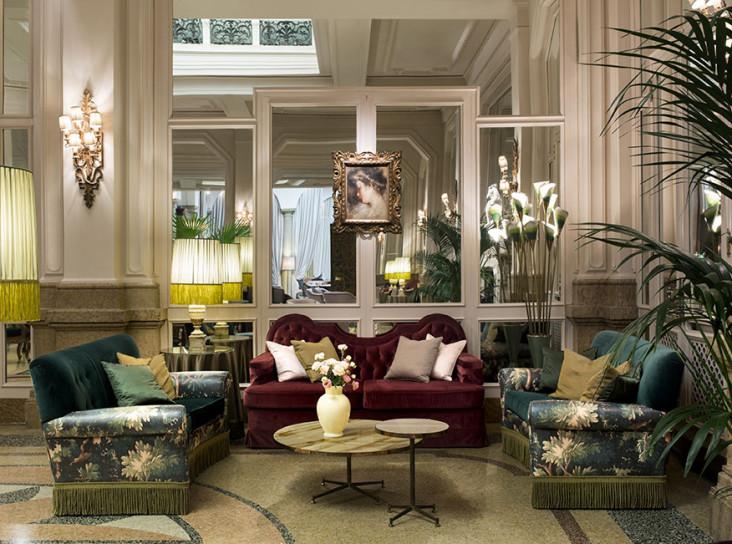 Dimore Studio обновляют миланский Гранд Отель