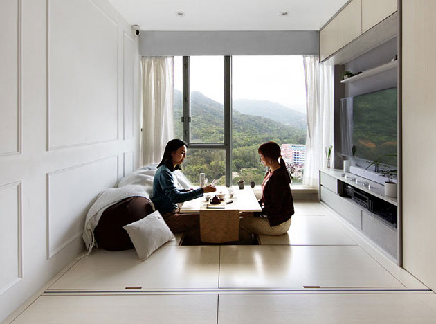 Sim-Plex: маленькая квартира-трансформер