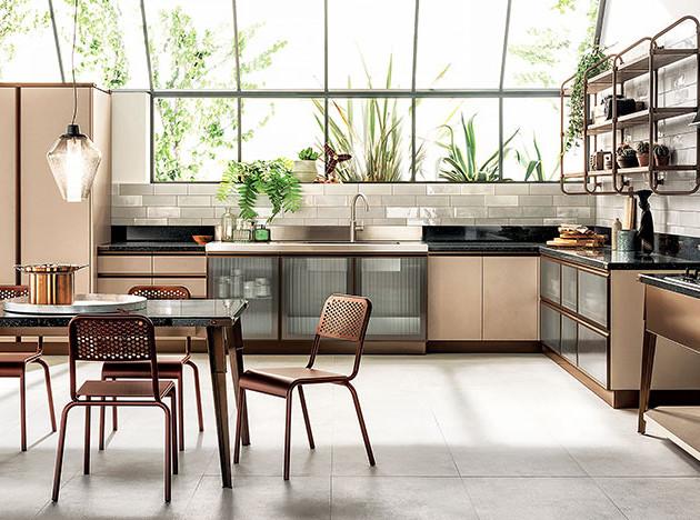 Diesel Open Workshop Scavolini: кухня-мастерская