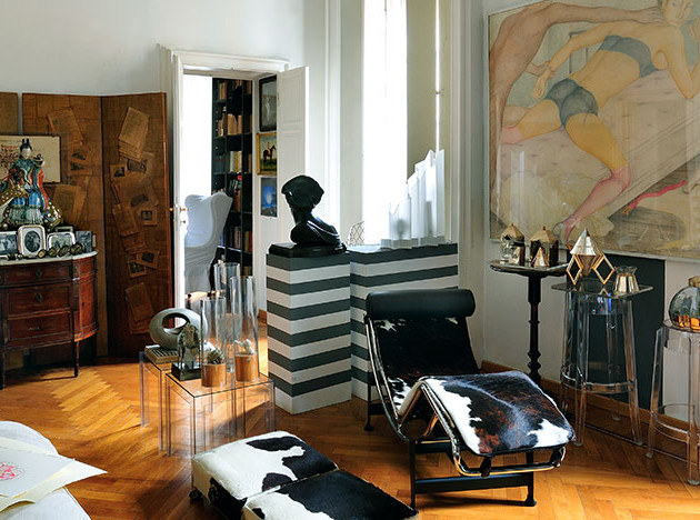 Квартира Карлы Веносты в Милане