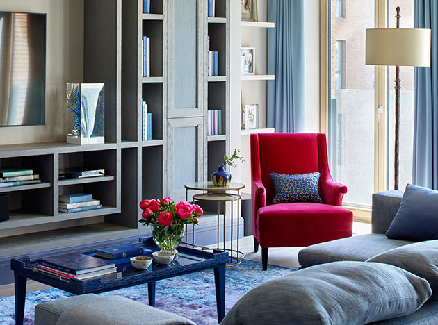 Sisters' Design: воздушная квартира в красивых красках