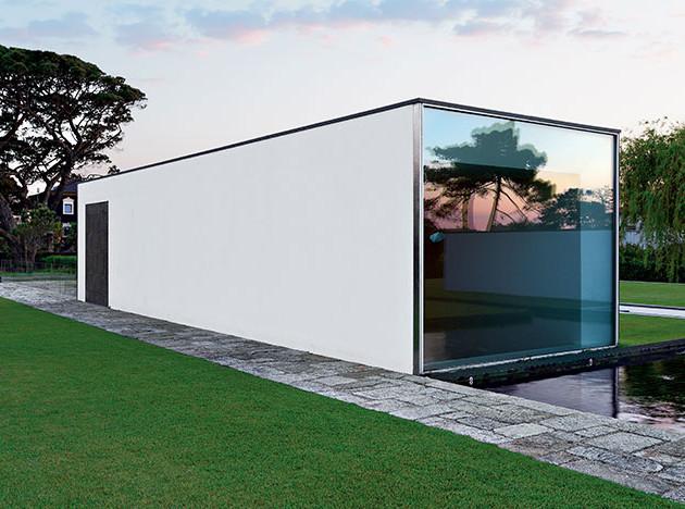 Oitoemponto: интерьер в «доме-невидимке»