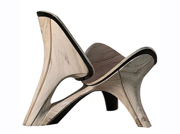 Кресло Ханса Вегнера по версии Zaha Hadid Architects