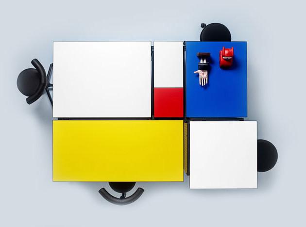 Жан-Мишель Вильмотт: культурная мебель для офиса