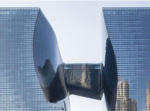 Opus по проекту Zaha Hadid Architects и Захи Хадид