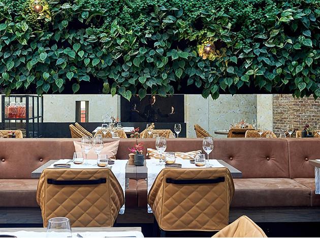 Ресторан Hex по проекту Studio Piet Boon