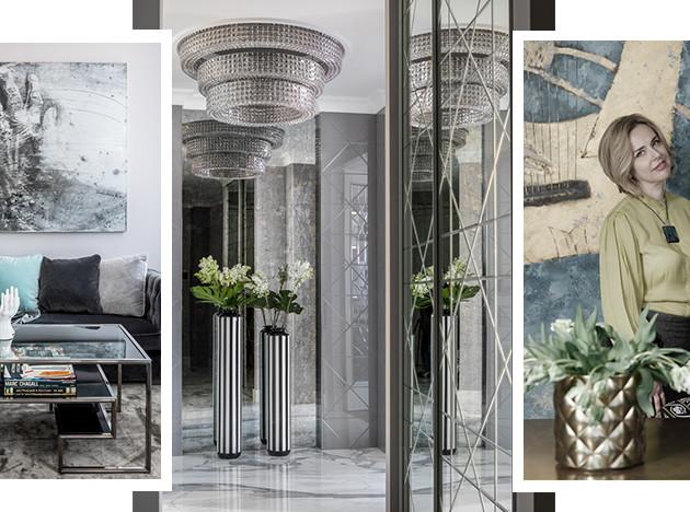 Art Spice Studio: монохромная квартира в Петербурге