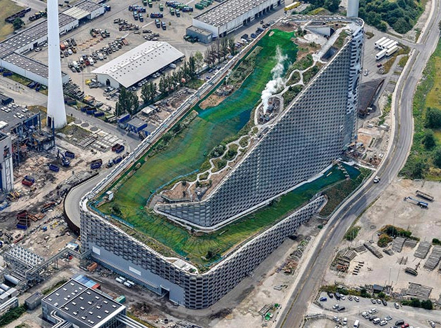 Самый экологичный завод по переработке отходов в мире