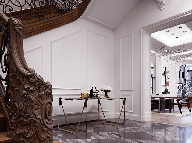 Vudafieri-Saverino Partners: дом Delvaux в Брюсселе